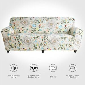 Sofa Covers Leaves Elastic Couch Cover Room Stretch Sofa Slipcover Protector