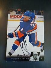 2010-11 Upper Deck Mark Streit Islanders Auto Autographed Signed Card
