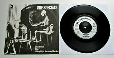 "The Specials - Ghost Town French 1981 Two Tone 7"" Single P/S"