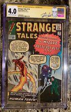 Strange Tales #110 (Jul 1963, Marvel) First App Of Dr.Strange Signed By Stan Lee