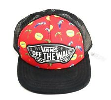 NEW Vans Off the Wall Beach Girl Trucker Snapback Hat ONE SIZE