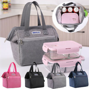 Waterproof Fresh Cooler Lunch Box Picnic Bags Carry Tote Insulated Lunch Bag