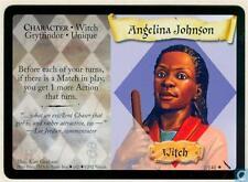 Harry Potter TCG Chambre de Secrets Angelina Johnson 1/140