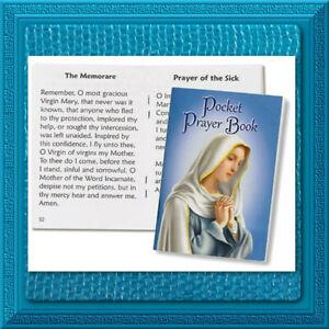Catholic Prayer Book My Pocket Prayer Book BLUE Cover Morning, Daily MARY NEW!