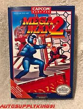 MEGA MAN 2 (Nintendo NES, 1989) Video Game Complete CIB w/ Custom Box Super MINT