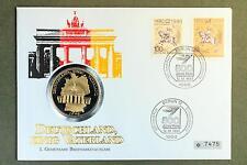 Numisbrief: Medaille 1990 Deutschland - Einig Vaterland - 40mm