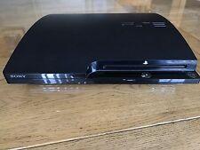 Sony Playstation 3 Slim 250 GB PS3 Consola Negra 17 Juegos. 2 controladores en caja superior