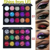 15 Colors Matte Eyeshadow Makeup Kit Shimmer Glitter Eye Shadow Powder Palette