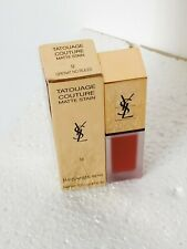 YSL Tatouage Couture Matte Stain  #9 Grenat No Rules Yves Saint Laurent