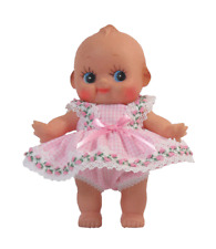 """Pink Checked Dress for 8"""" Kewpie Dolls"""