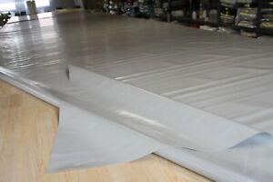 2,65€/m² Lkw Plane Abdeckplane PVC Holzplane B-Ware 760gr/m² st.grau 2,50m/7,70m