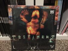 Testament - LOW - GOLD VINYL - LP RECORD slayer metallica