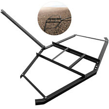 Driveway Drag Tow Behind Drag Harrow 66'' Width, Steel Gravel Grader For Atv,Utv