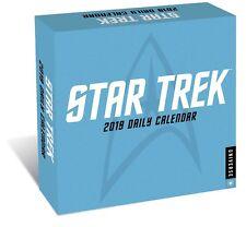 Star Trek Stardate 2019 Daily Desk Calendar ALL TV Series and Films NEW SEALED