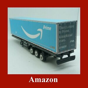 Amazon Prime Collection Model Freight Shipping Containers x 12 N Gauge 1:160