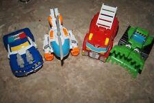 Transformers Rescue Bots Lot - Rescan - Heatwave - Blades - Boulder - Chase