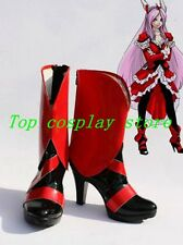 Pretty Cure Cosplay Cure Passion Cosplay Boots shoes short Ver red/black #PC018