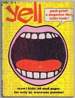 ORIGINAL Vintage April 1966 Yell Magazine