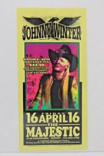 Johnny Winter At The Majestic 1999 Handbill Flyer