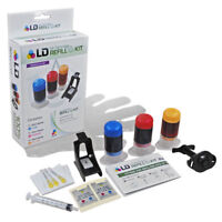 LD CC656AN 901 Tri-Color Refill Kit for HP Printer