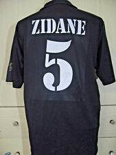 ZIDANE REAL MADRID SPAIN 2001 CENTANARY ADIDAS FOOTBALL SHIRT CAMISERA VTG M