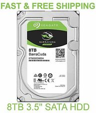 "Seagate 8000GB 8TB Barracuda Compute 256mb Cache ST8000DM004 3.5"" Hard Drive"