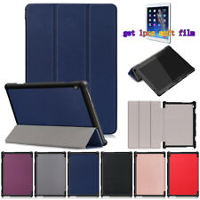 PU Leather Stand Case Cover For Lenovo Tab M10 TB-X605F/TB-X505 Tablet+Film 10.1