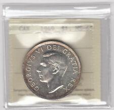 1949 Canada Silver Dollar - ICCS MS-65 - XWD 759