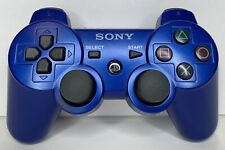 PS3 Sony Official DualShock 3 Controller Blue OEM CECHZC2U Tested Working