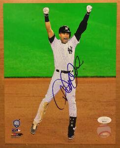 Derek Jeter New York Yankees Autographed 8x10 Photo Photofile JSA LOA Certified