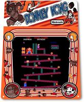 Donkey Kong Classic Arcade Marquee Game Room Man Cave Wall Decor Metal Tin Sign