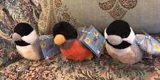 Webkinz LOT of 3 Lil Kinz Birds- ALL New SEALED Codes Chickadee Robin #GG1