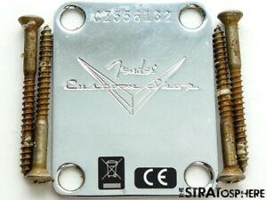 Fender USA Custom Shop 1959 Heavy Relic Stratocaster NECK PLATE Strat Ltd. 59