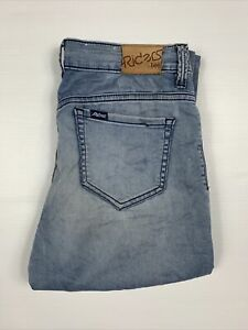 Riders by Lee Womens Mid Rise Vegas Jeans Light Wash Blue Size 9