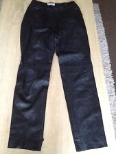 Straight Leg Leather L30 Jeans for Women