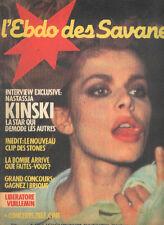 NASTASSJA KINSKI SHEILA PINO DANIELE French Magazine nastassia