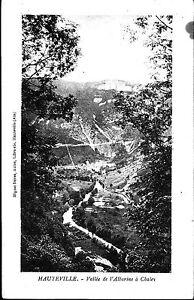 A02111+  CPA 01 + HAUTEVILLE  VALLEE DE L' ALBARINE A CHALEY