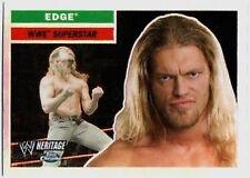 WWE Edge Topps Heritage Chrome 2006 Refractor Card