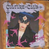 """CULTURE CLUB the war song 7"""" PS EX/EX uk virgin VS 694"""