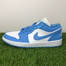 Nike Air Jordan Retro 1 Low UNC Wmns University Blue White AO9944-441 W 7-12