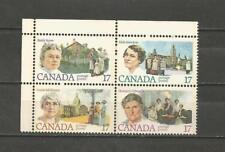 CANADA -1981 Feminists   - MINT UNUSED BLOCK OF 4..