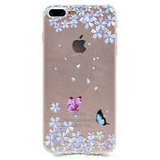 Fashion Ultra Slim Patterned Clear TPU Soft Silicone Gel Rubber Back Case Cover