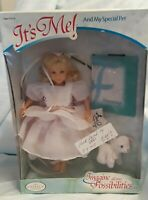 it's Me Doll-and My Special Pet from the Family Company Signed by Patti NIB Rare