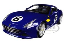 FERRARI CALIFORNIA T BLUE SUNOCO #6 70TH ANNIVERSARY 1:18 BY BBURAGO 76104