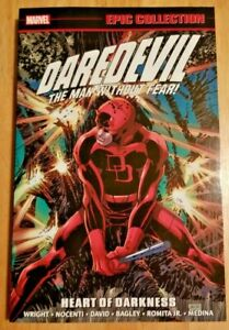 Daredevil Epic Collection: Vol 14: HEART OF DARKNESS, mint and very rare!
