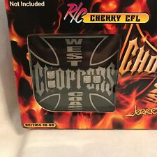 2004 1:18 Scale West Coast Choppers Jesse James R/C Cherry CFL