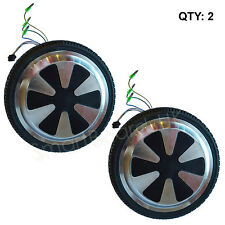 PAIR - Wheel / Motor for 6.5 Inch Hoverboard Parts, Sweg, Self Balance NEW