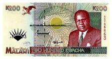 Malawi . P-35 . 200 Kwacha . 1995 . Gem*Unc*.