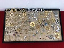 Themes And Materials Resell Craft Art Lot Of 101 Vintage Brooches Pins Different