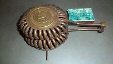 Ancien original détendeur avec tuyauterie cuivre MANUFACTURE ARMES CYCLES MF
